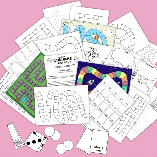 board games for kids creator kit